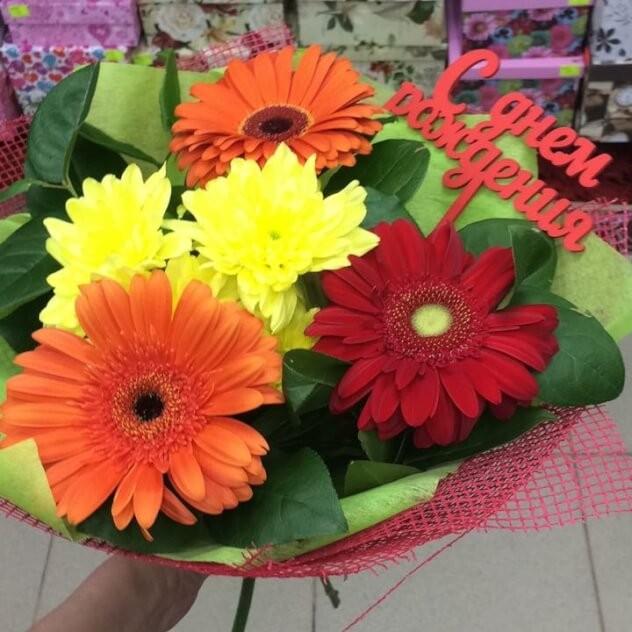 Доставка цветов в казань, букет из орхидей и гортензии бело-голубой